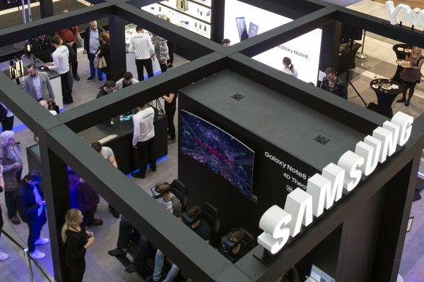 Samsung využije Chodov pro interaktivní pop-up Galaxy Studio