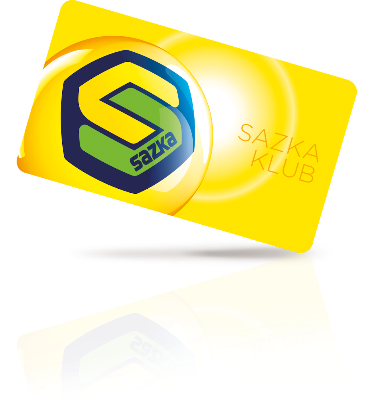 Plastová karta věrnostního programu Sazka Klub