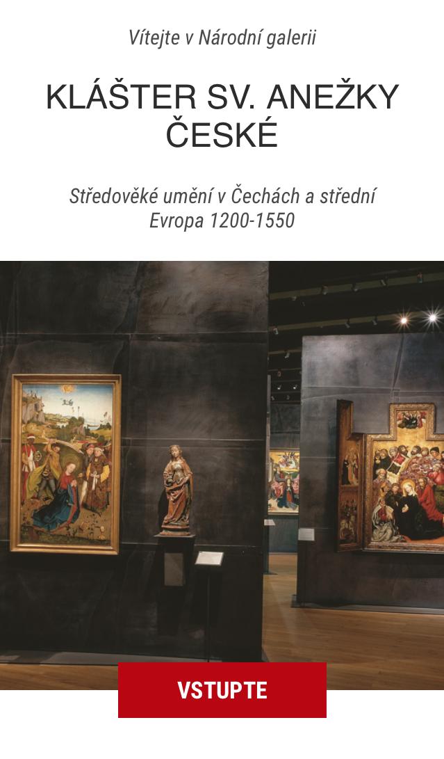 Aplikace se zaměřuje na 15 děl z výstavy středověkého umění v Anežském klášteře