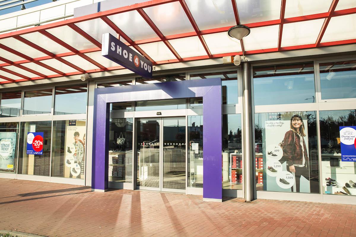 Nová prodejna Shoe4you v retail parku Centro Zlín