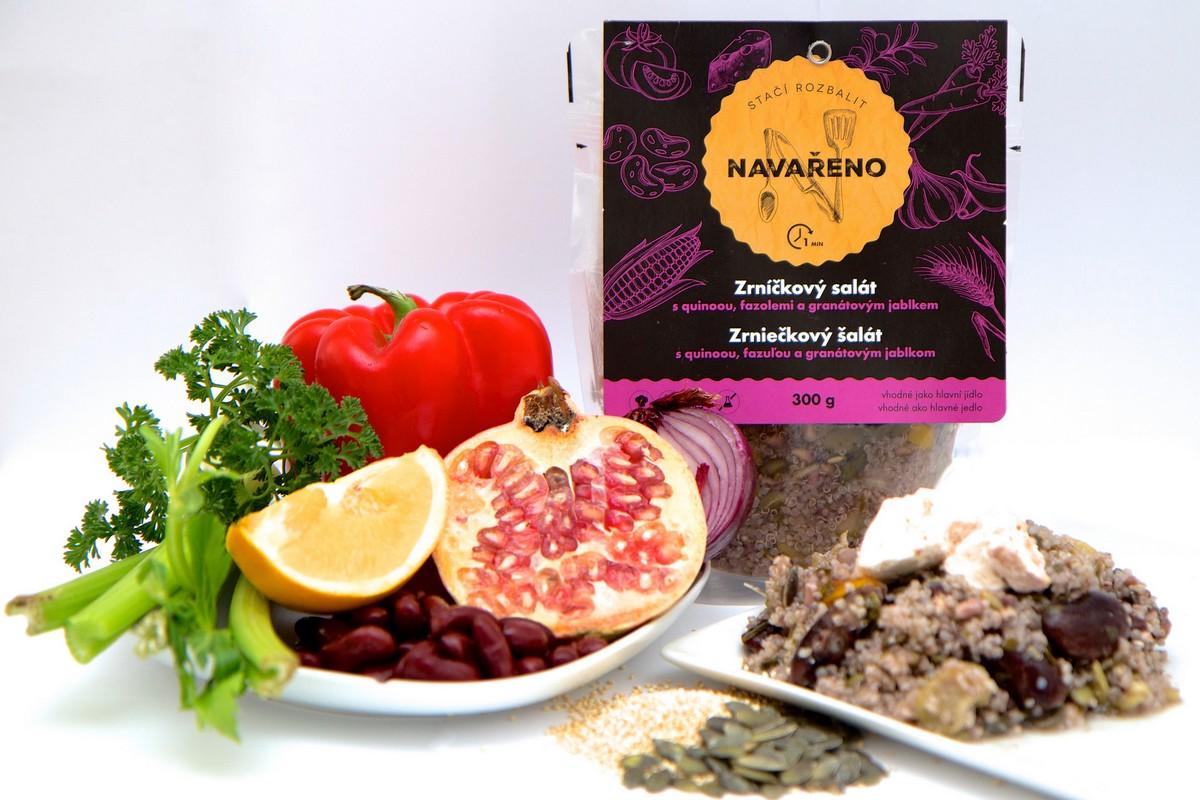 Zrníčkový salát z Navařeno (od 79 Kč za 300 g)