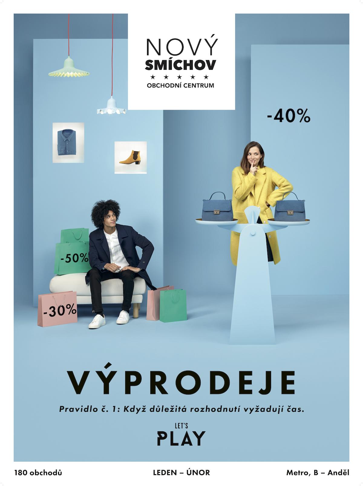 Nová kampaň v obchodním centru Smíchov