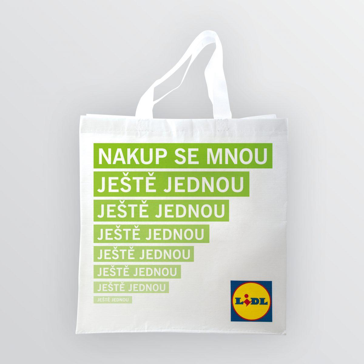 Permanentní plastová taška Lidlu