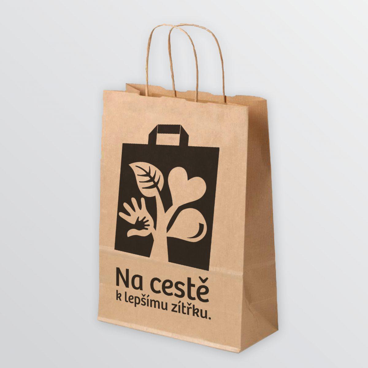 Papírová taška Lidlu