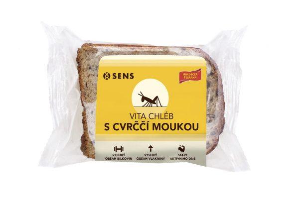 Penny Market prodává chléb z cvrččí mouky Sens