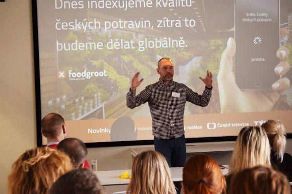 Petr Václavek buduje srovnávač kvality potravin Foodgroot