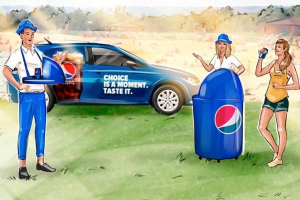Pepsi letos použije v Souboji chutí menší pojízdné jednotky