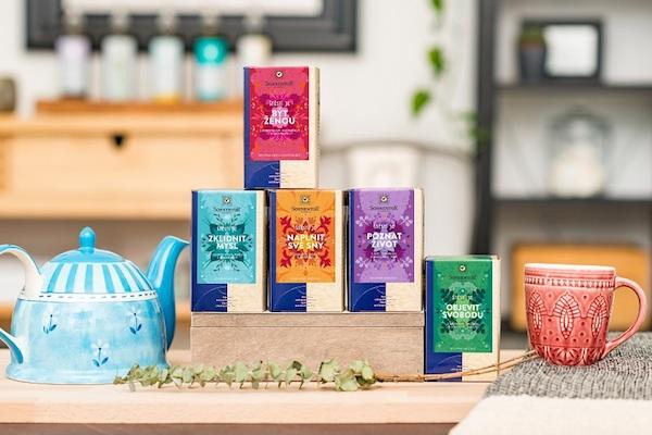 Kolekce Wellness čajů Sonnentor