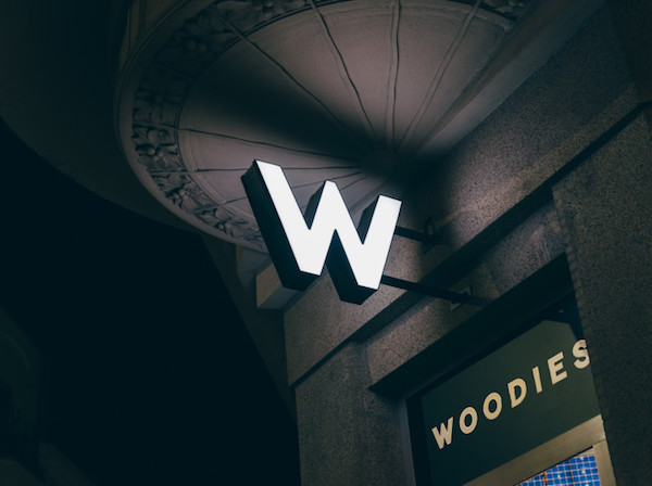 Prodejna Woodies