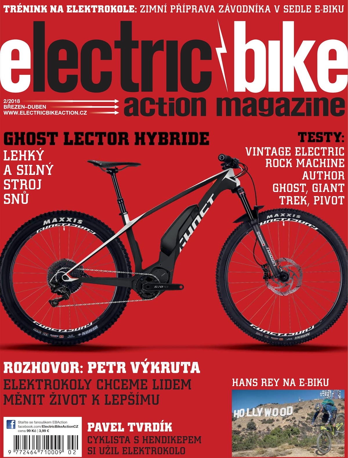 Electric Bike Action, březen-duben 2018