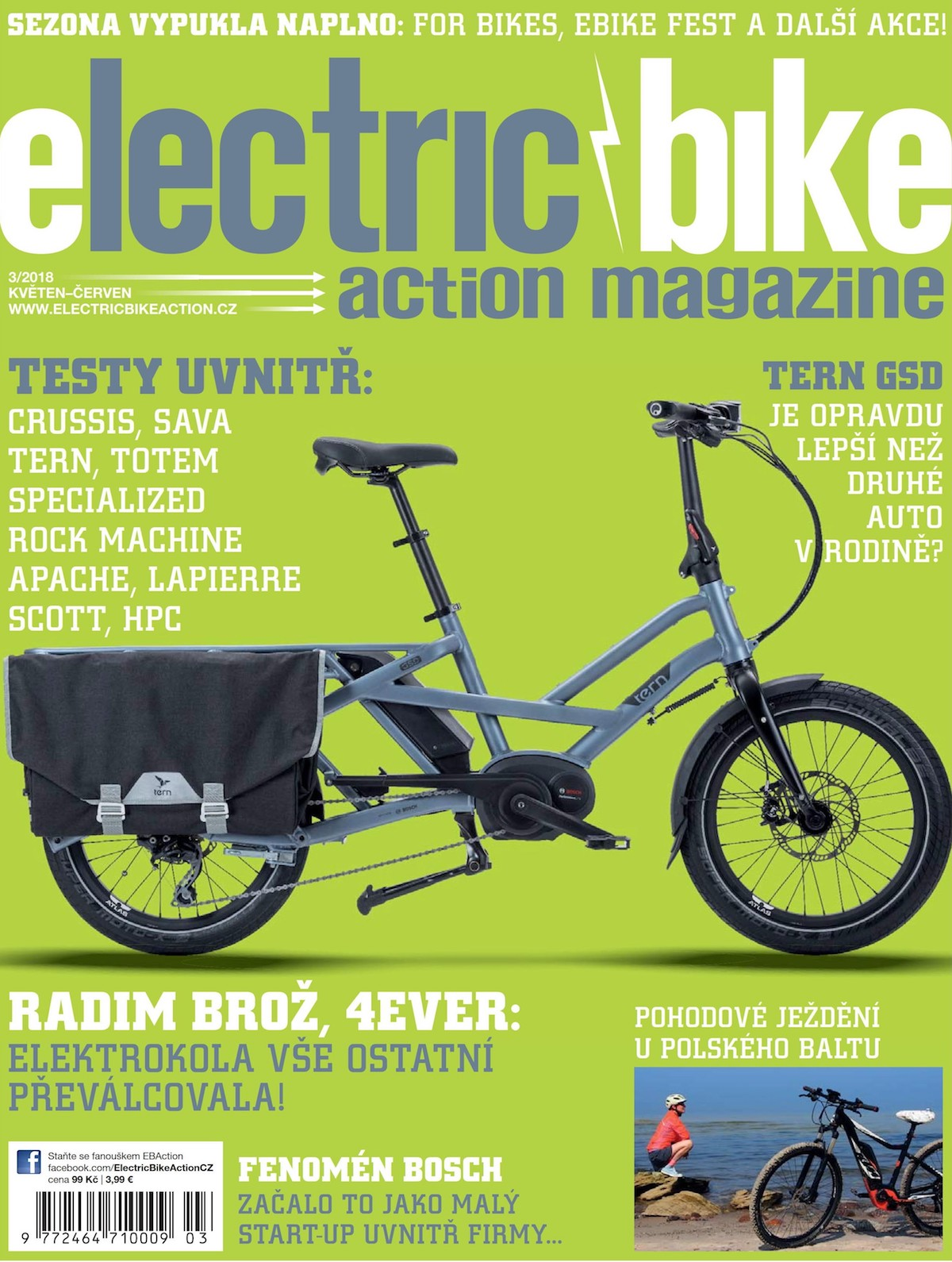 Electric Bike Action, květen-červen 2018