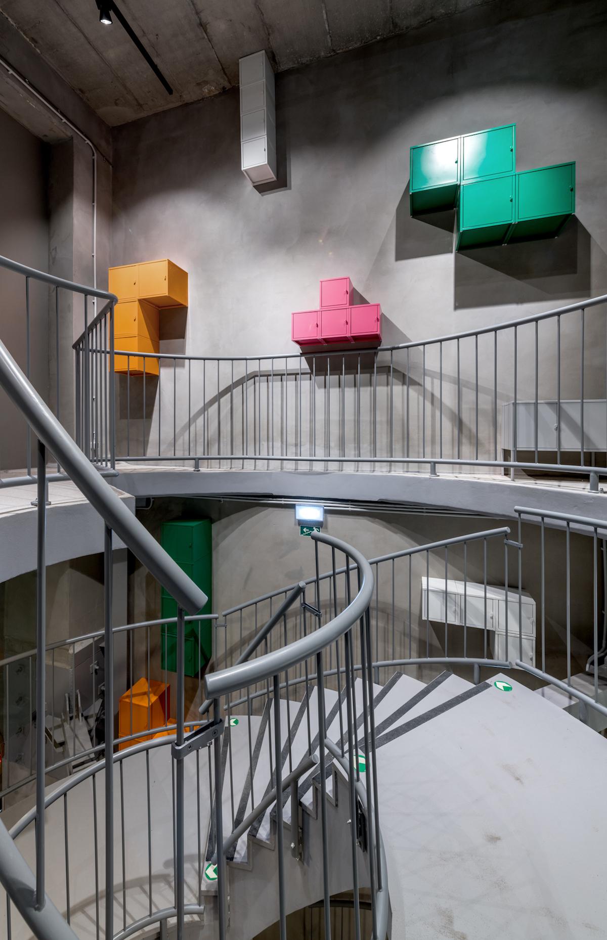 Koncept Ikea Point má dvě podlaží spojené točitým schodištěm