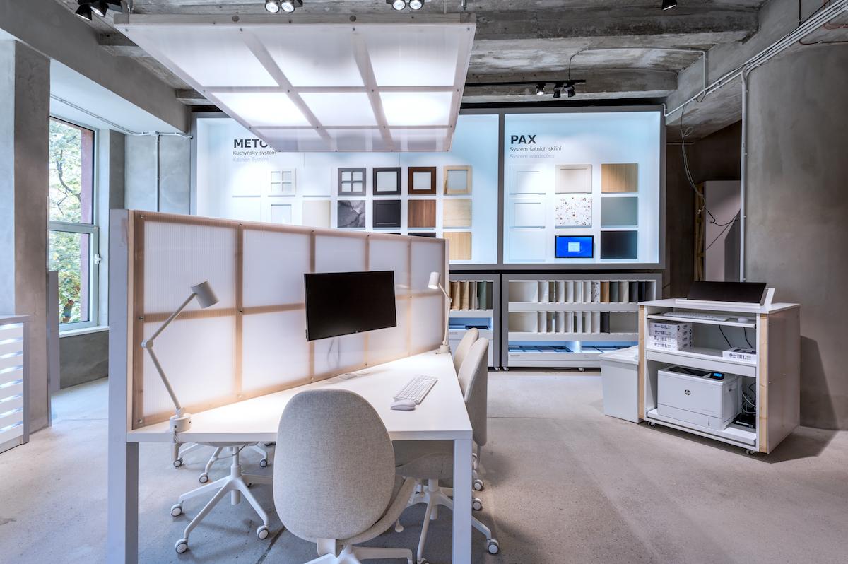 Ikea Point zahrnuje plánovací studio