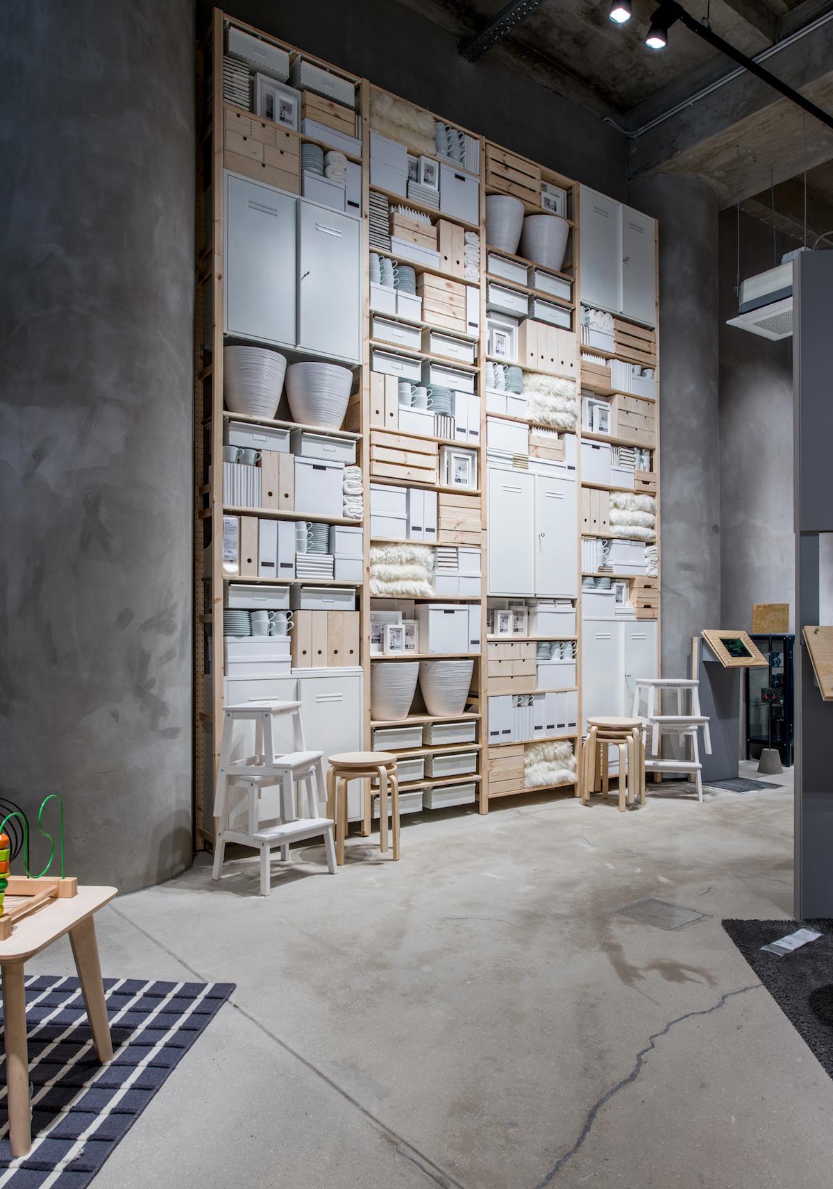Koncept Ikea Point nabízí obývací pokoje