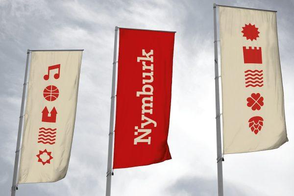 Město Nymburk má nové logo od studia Colmo