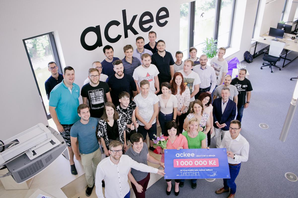 Vítězem soutěže Ackee se stalo Centrum pro dětský sluch Tamtam