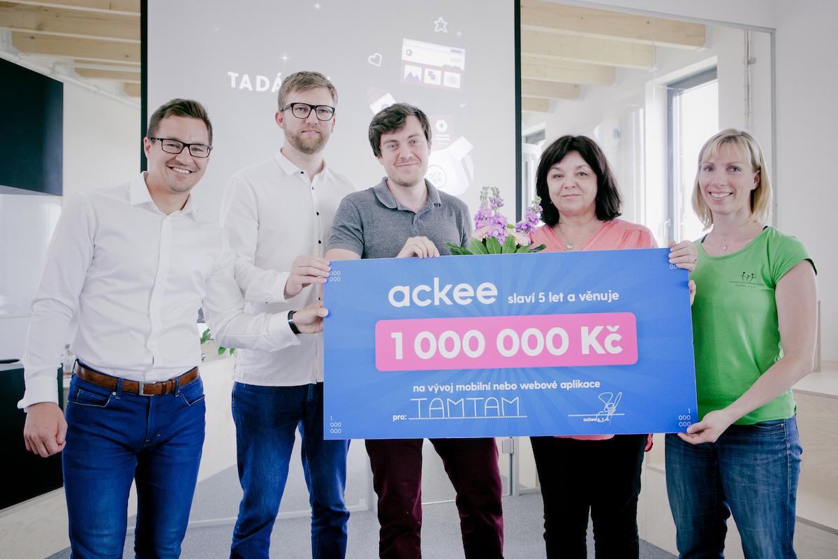 Tamtam získal aplikaci v hodnotě milion korun