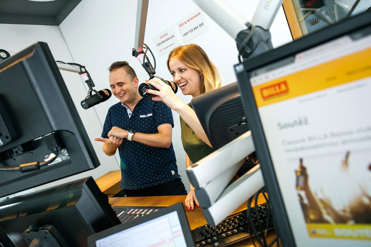 Program instore rádia supermarketů Billa vzniká ve Vídni