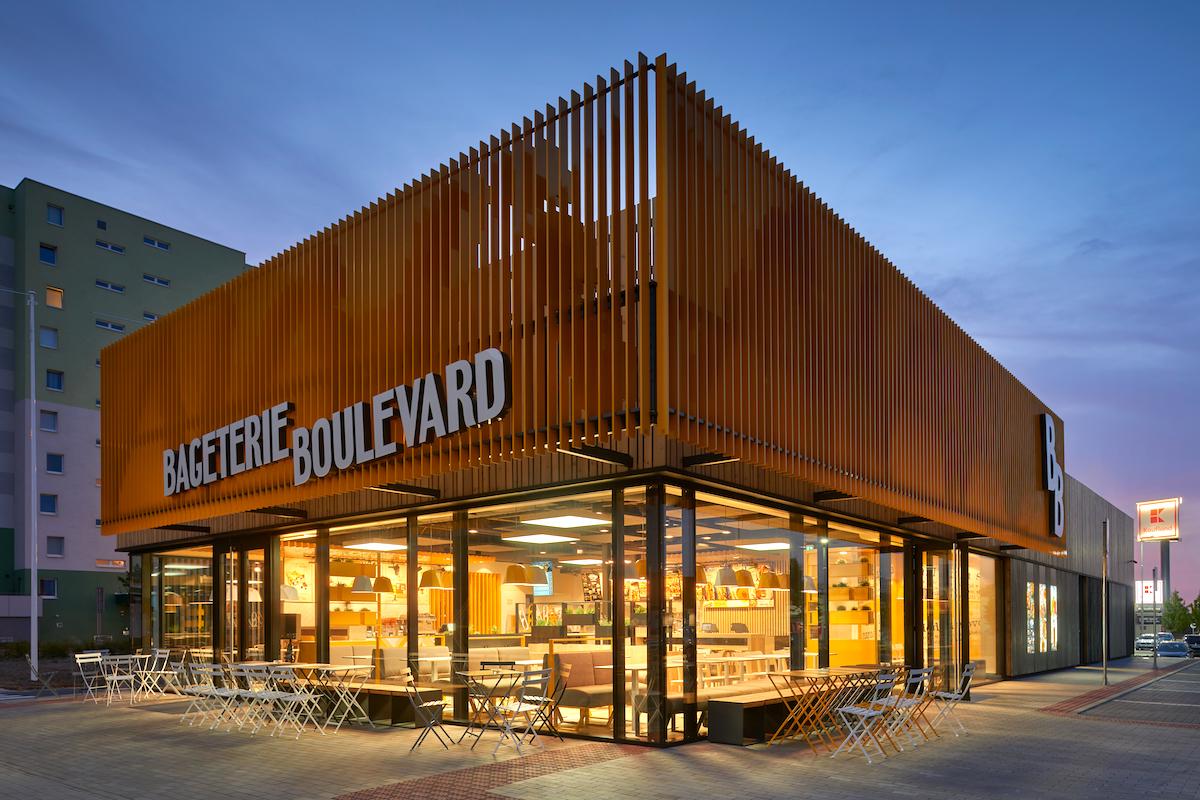 Nový koncept samostatně stojících restaurací Bageterie Boulevard