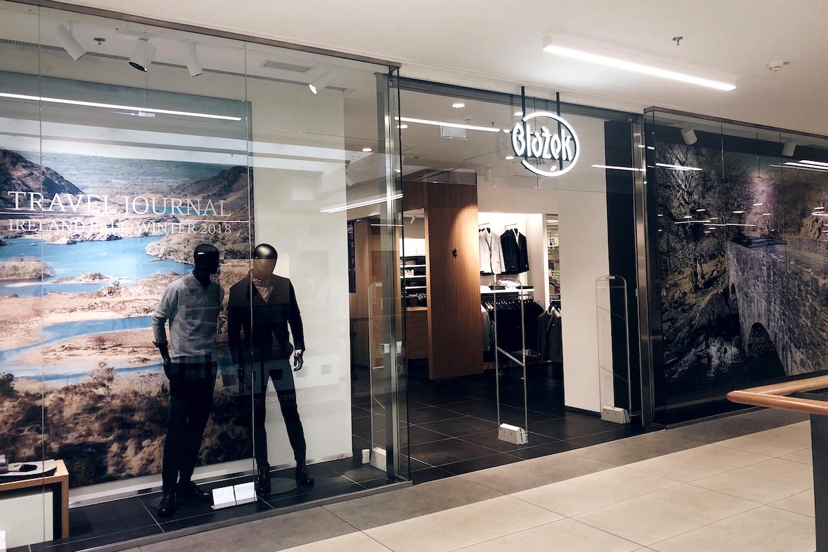 Prodejna Blažek v českobudějovickém centru Igy