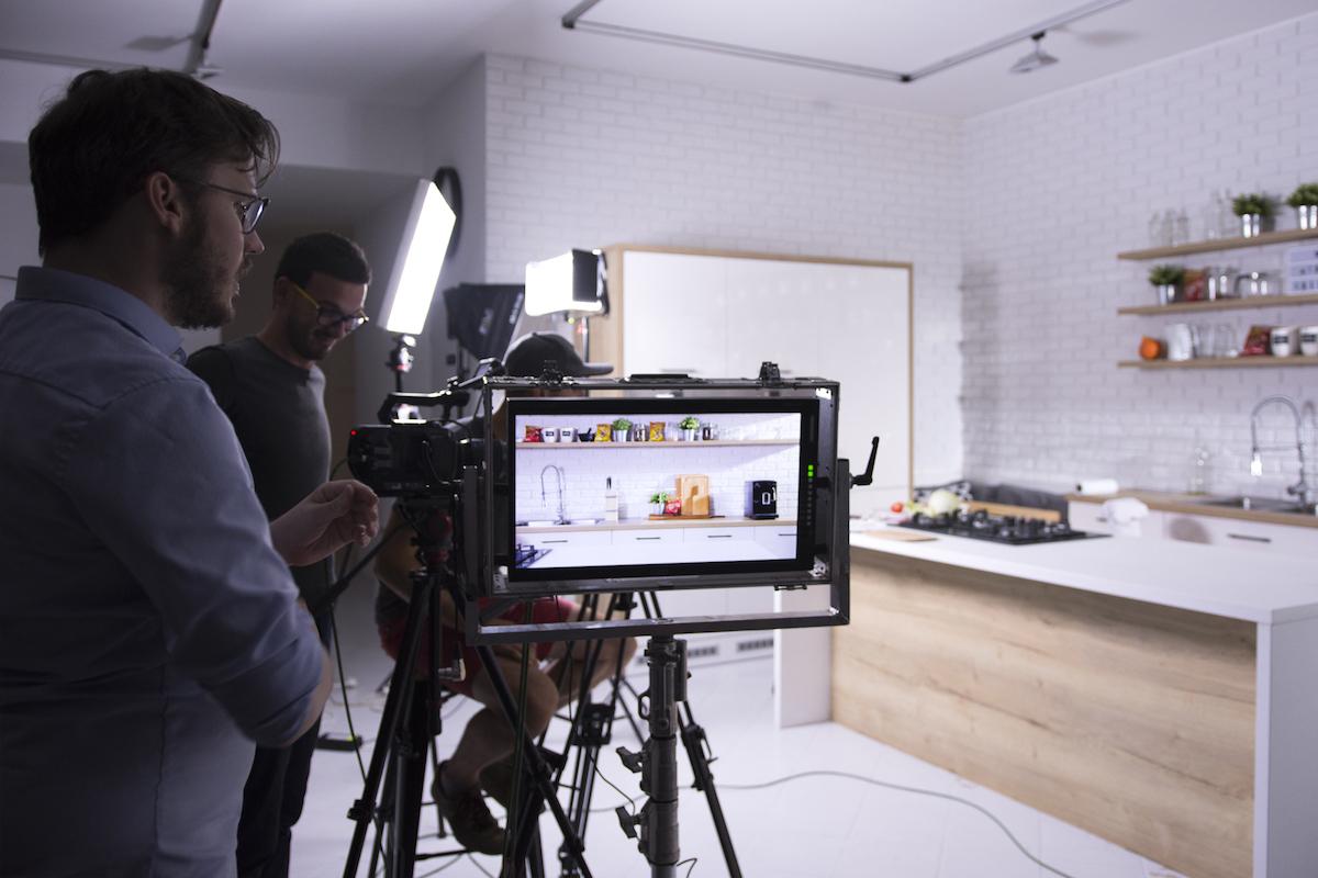 Z natáčení spotu pro značku Cheetos