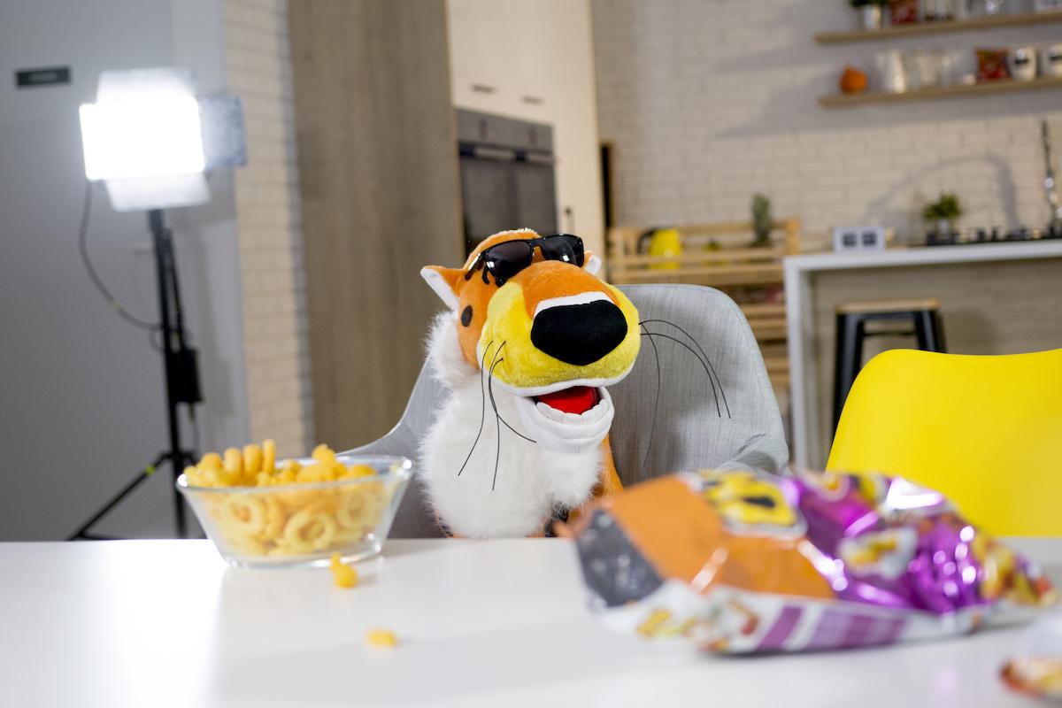 Gepard Chester, maskot značky snacků Cheetos