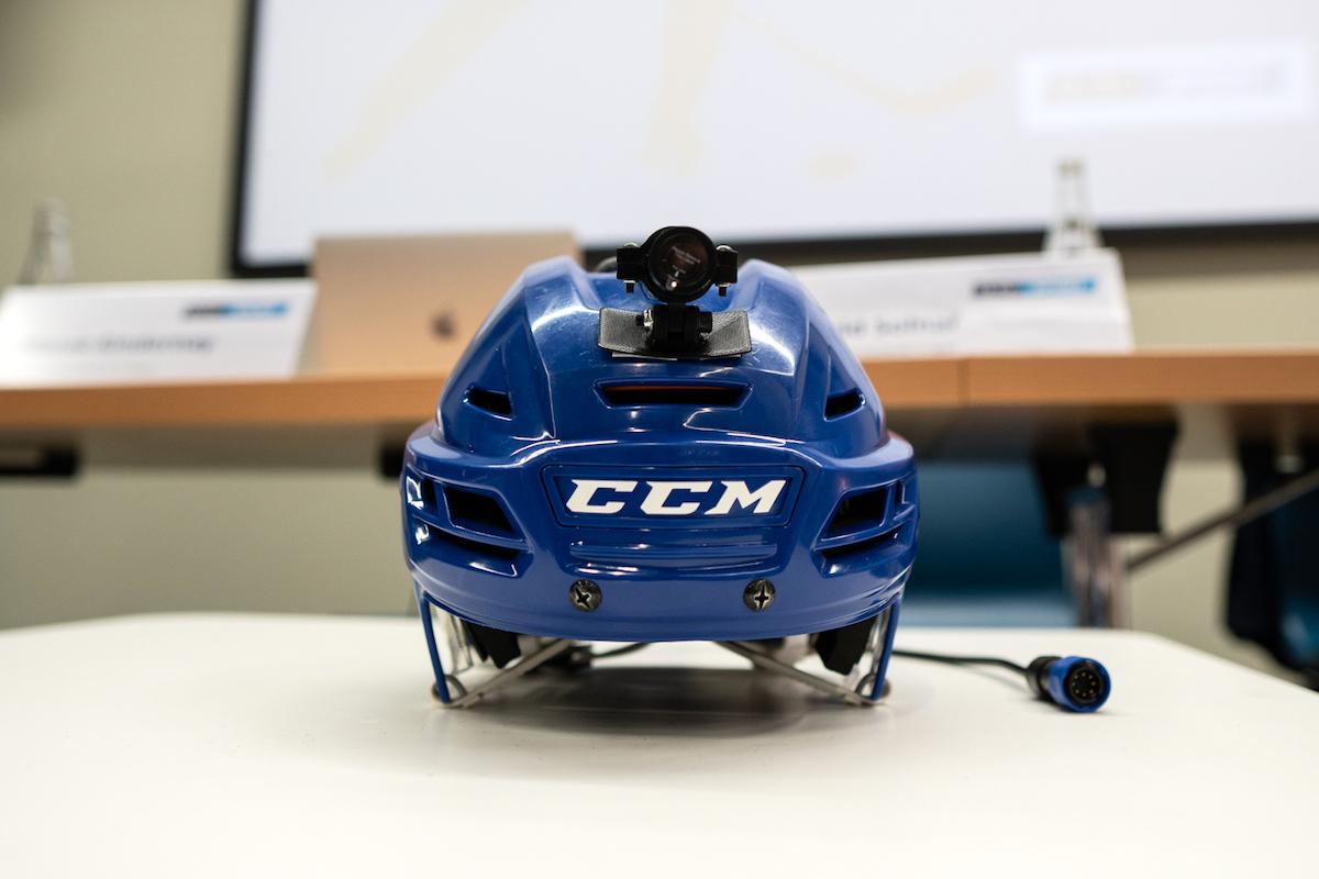 Helma s kamerou. Foto: O2
