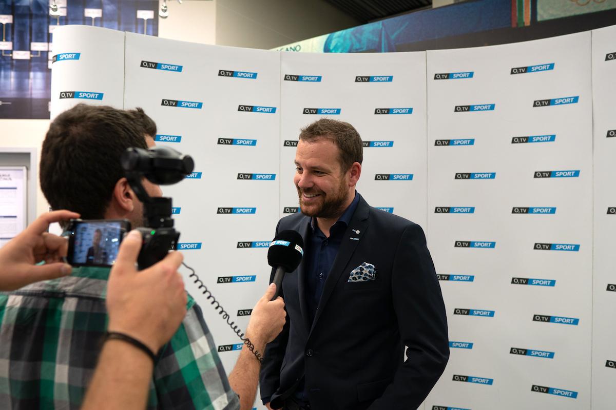 Jan Homolka na pondělní tiskové konferenci. Foto: O2