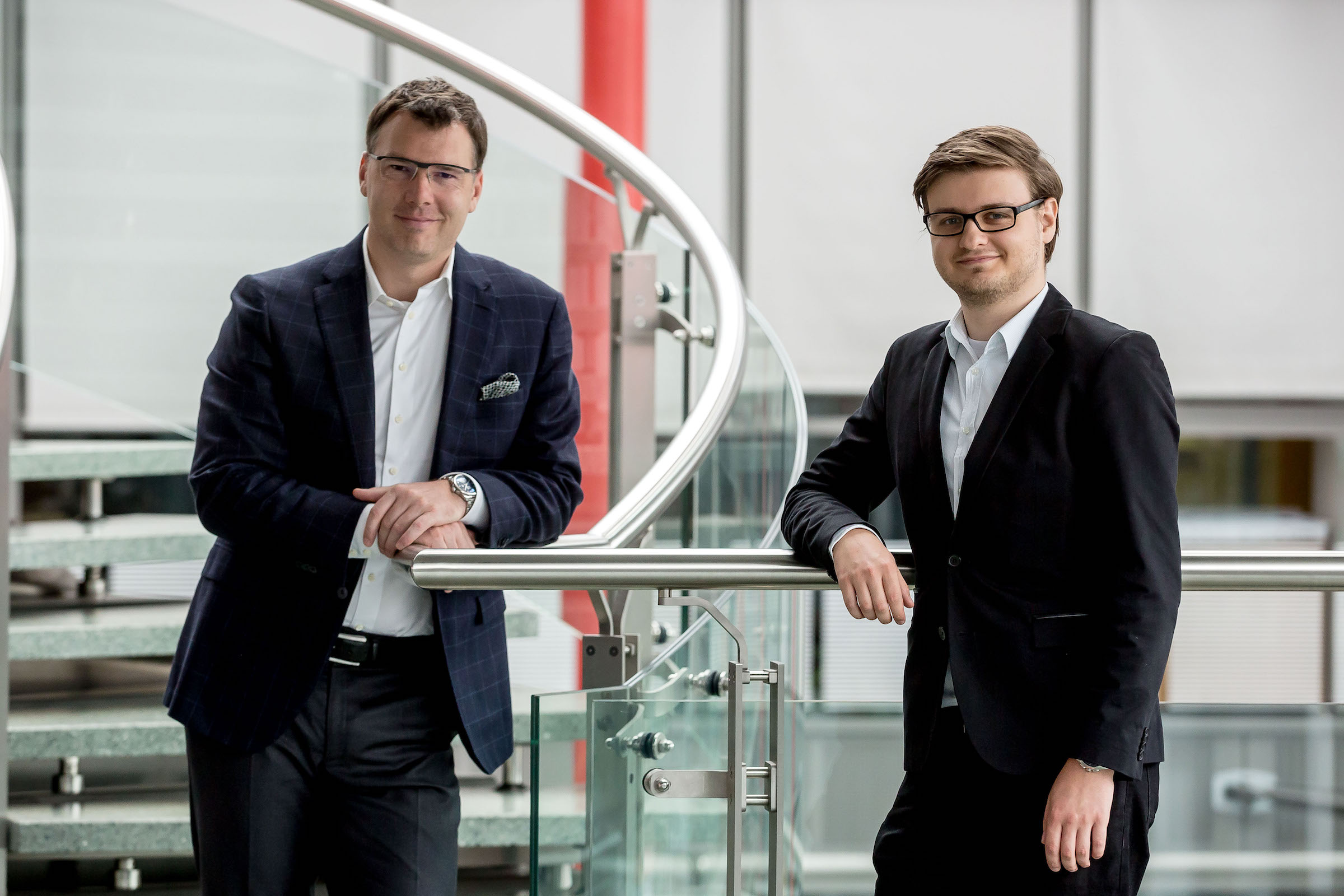 Pavel Kysela (vlevo) a Filip Líbal