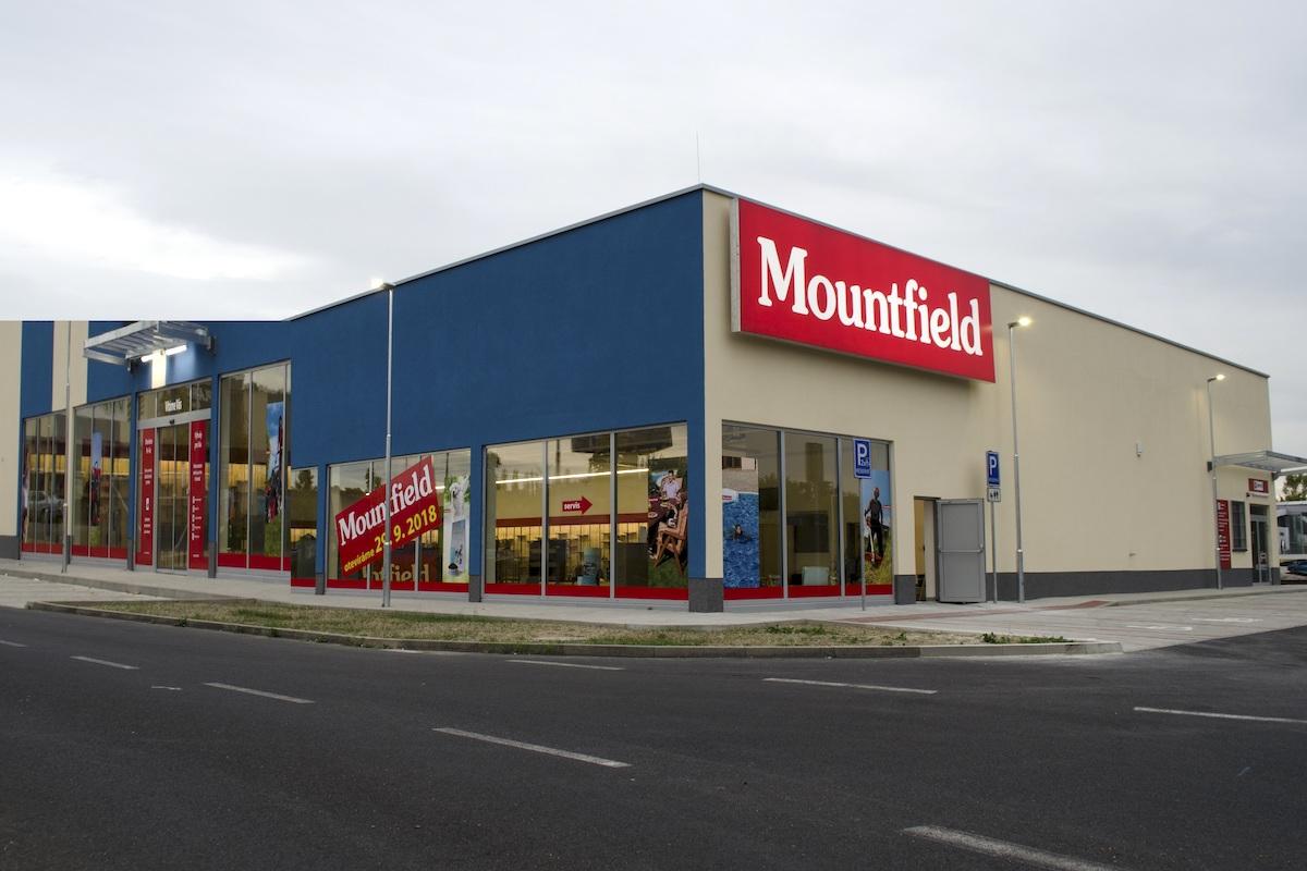 Zmodernizovaný Mountfield v České Lípě