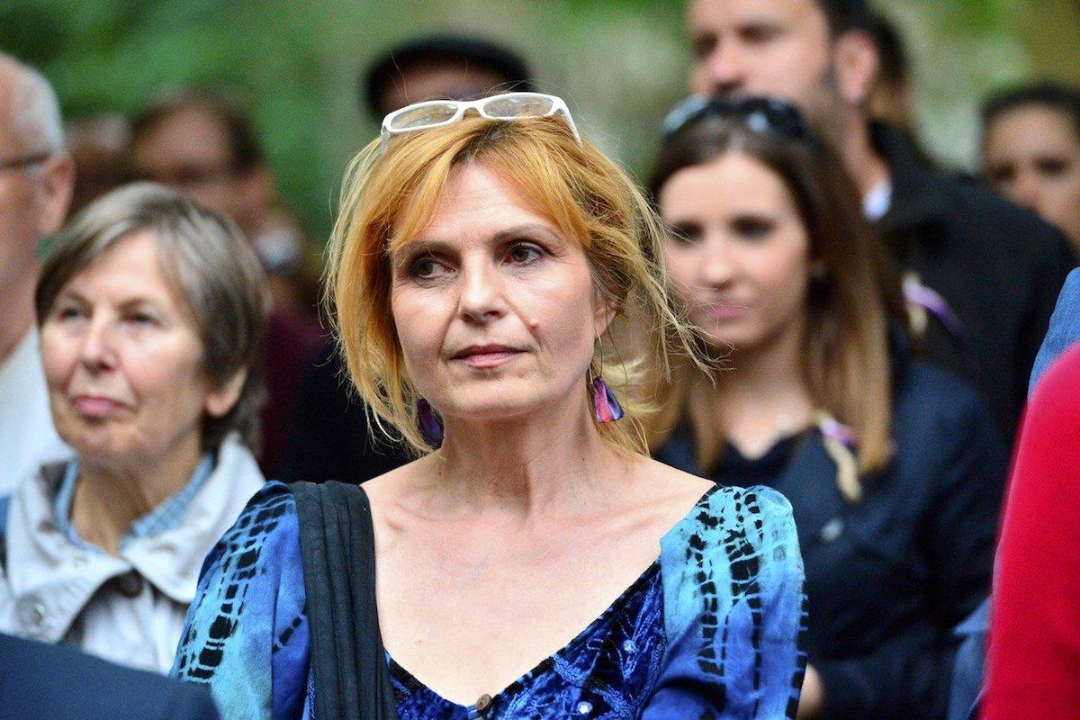 Petra Procházková letos v červnu při pietní akci k uctění Milady Horákové. Foto: Profimedia.cz