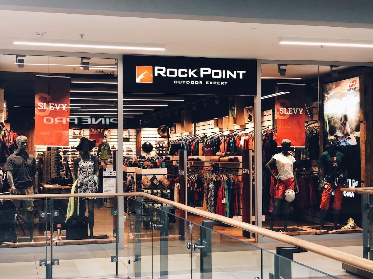 Prodejna Rock Point v českobudějovickém centru Igy