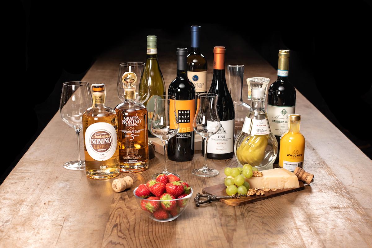 Vína a lihoviny z Wine Foodu
