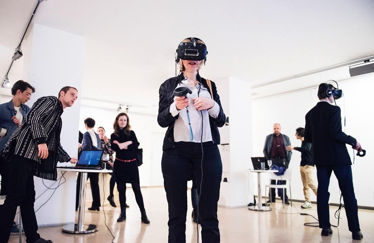 V rámci stanic virtuální reality od VR Musashi se návštěvníci setkají a popovídají si se slavnými českými vynálezci