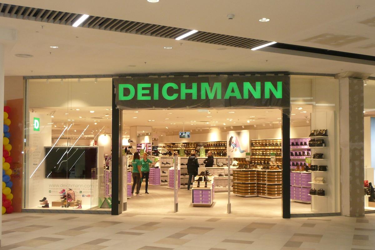 Nová prodejna Deichmann v Letňanech