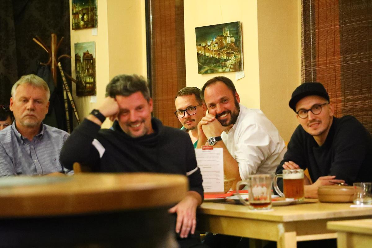 Otevřený večer Creative Copywriters Clubu s Petr Havlíčkem a Robertem Peňažkou
