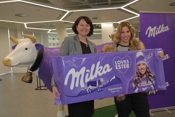 Ledecká se na dvě sezóny spojí s čokoládou Milka