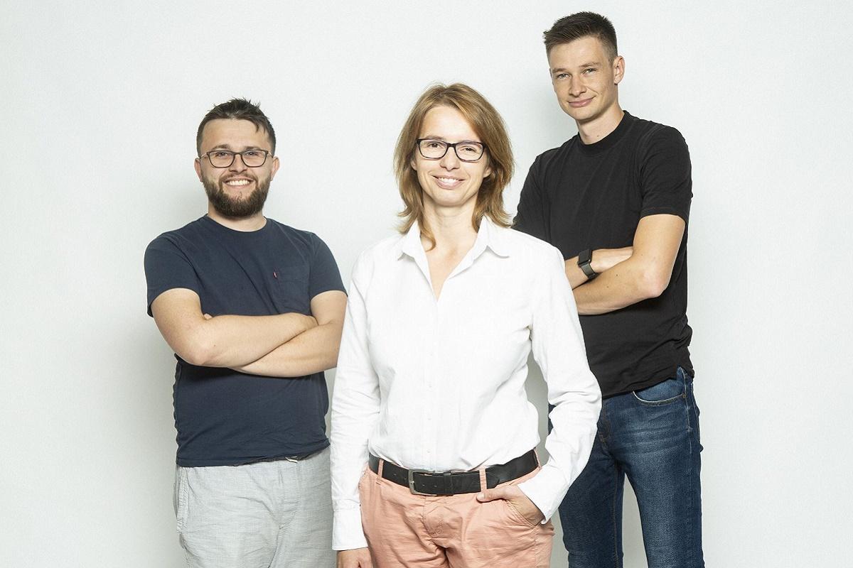 Spolumajitelé Grasonu Lukáš Strnadel z The Funtasty a Jarmila Kowolowská s Karlem Maříkem
