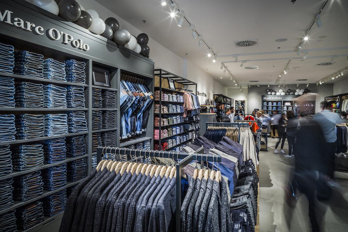 Prodejna Marc O'Polo ve štěrboholské Fashion Areně