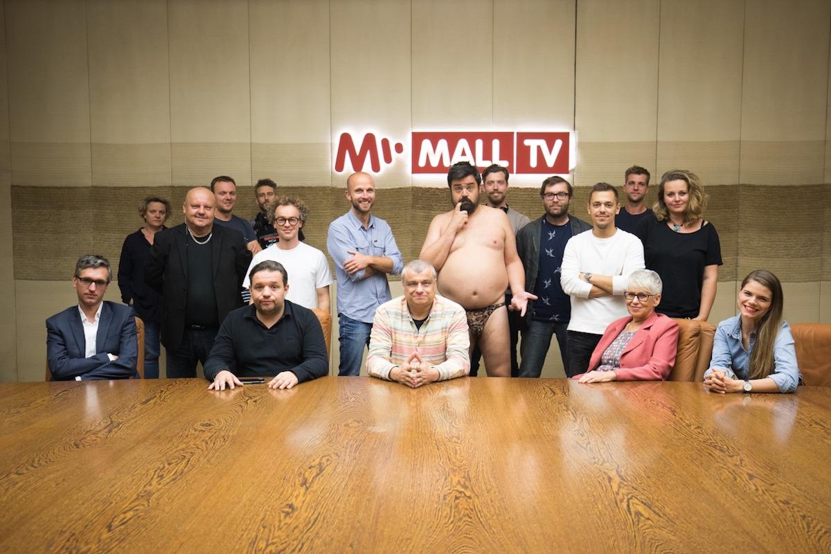 Protagonisté kampaně Mall.tv