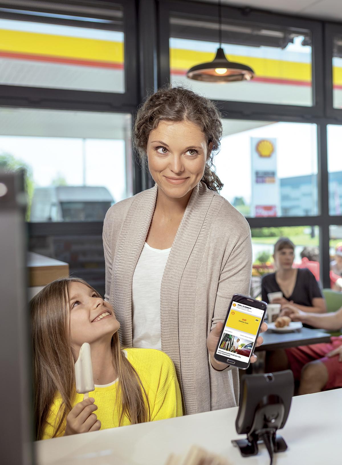 Nabídka Shell ClubSmart zahrnuje digitální kartu v mobilní aplikaci
