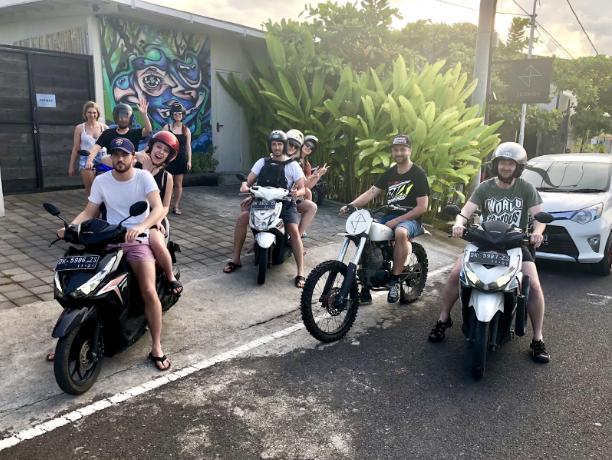 Výlet na motorkách
