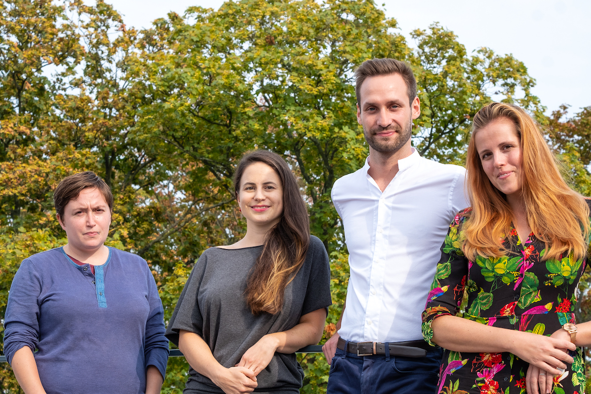 Kreativní tým Cognita reprezentují Lenka Stehlíková (zcela vlevo) a Petr Kašpar