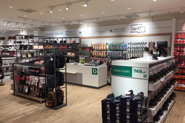Deichmann po 12 letech přestavěl svou prodejnu v pražském centru Letňany