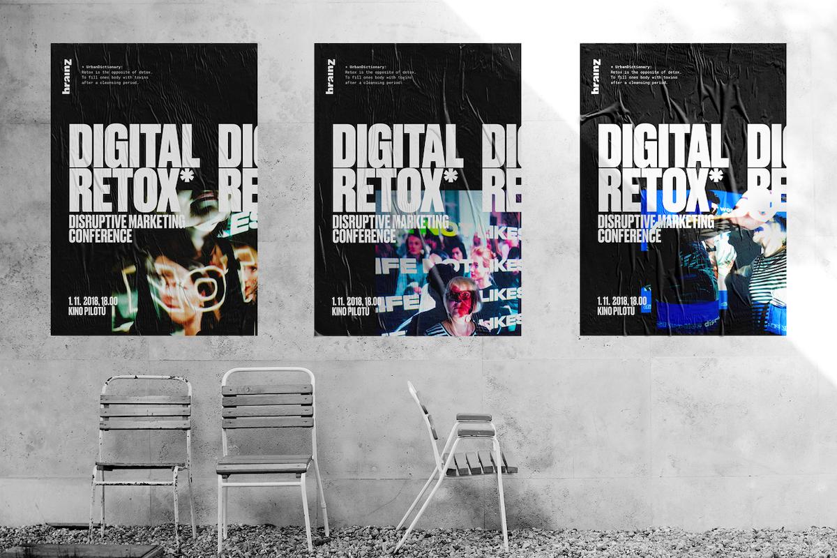 Digitální retox 2018: plakáty