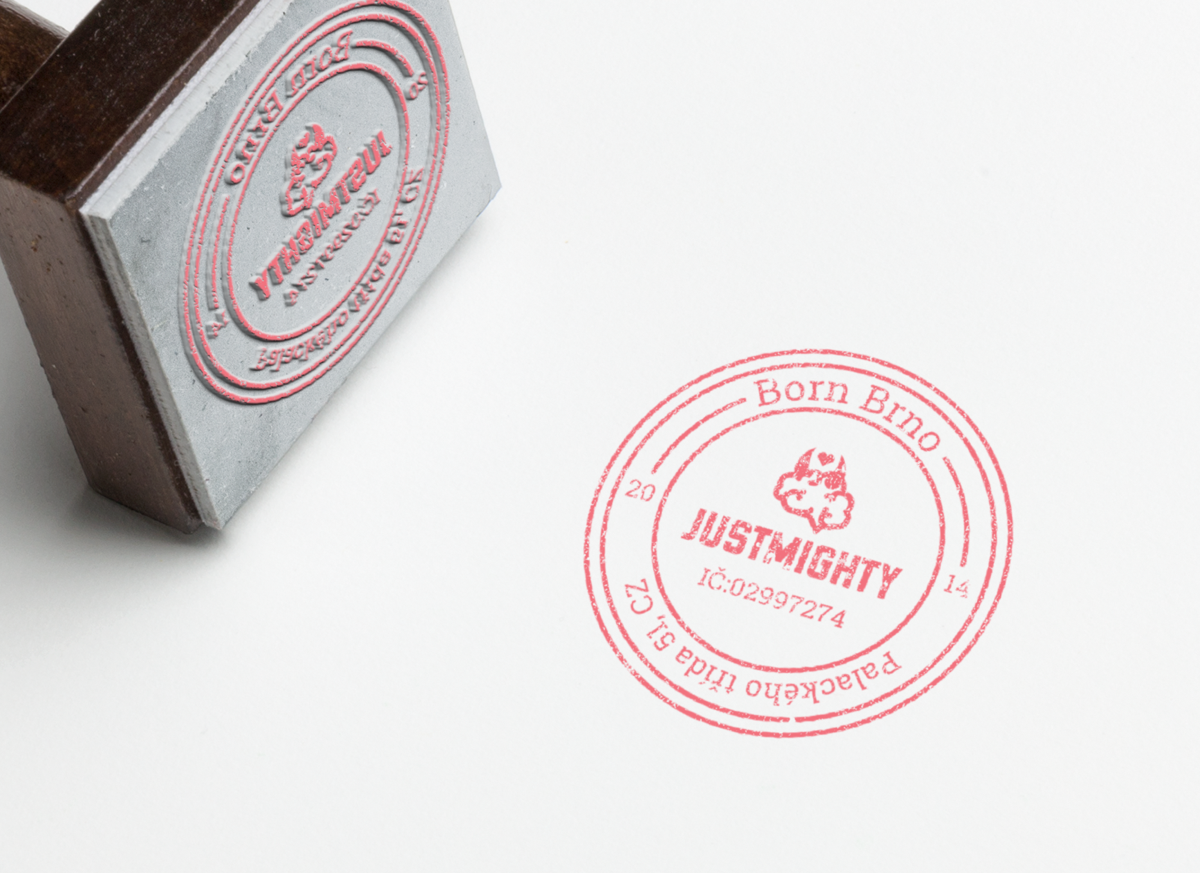 Nová vizuální identita Justmighty