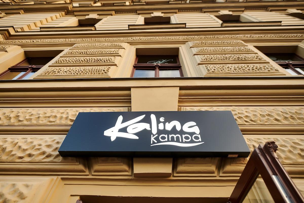 Exteriér restaurace Kalina