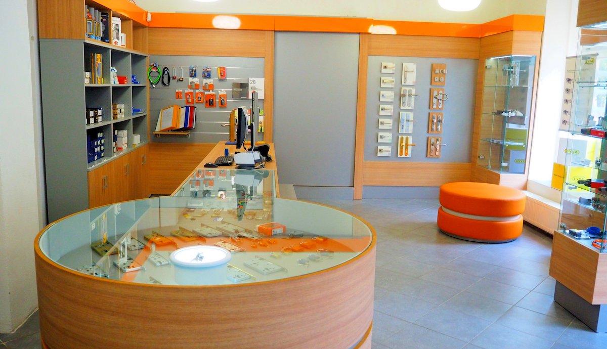 Nový interiér rodinného zámečnictví Kaltmeyer v pražských Nuslích
