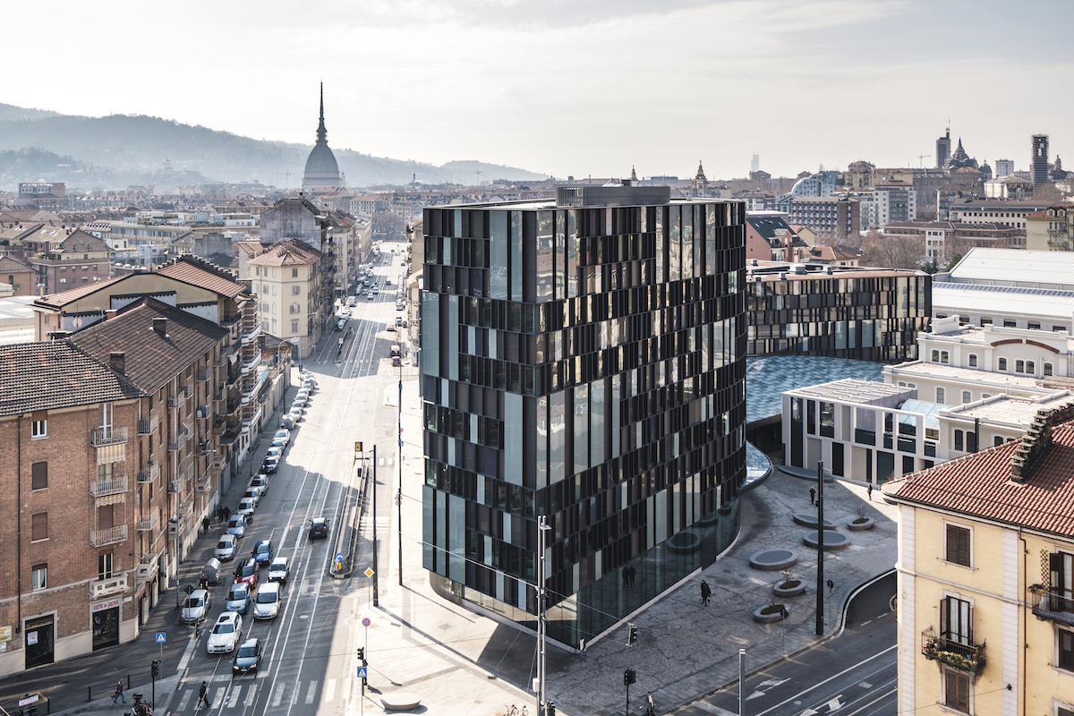 Ústředí firmy Lavazza v italském Turíně. Foto: Andrea Guermani