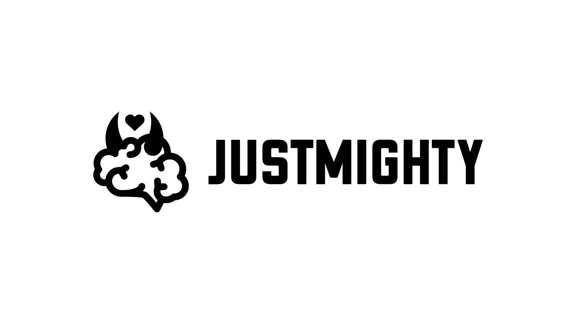 Nové logo Justmighty
